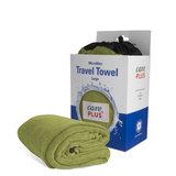 Care Plus Travel Towel Microfibre Large - Groen_