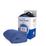 Care Plus Travel Towel Microfibre Medium - Blauw _