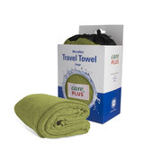 Care Plus Travel Towel Microfibre Large - Groen_