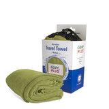 Care Plus Travel Towel Microfibre Medium - Groen_