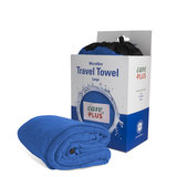 Care Plus Travel Towel Microfibre Large - Blauw _