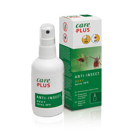 5X Care Plus Deet 50% spray 60 ml - Voordeelverpakking