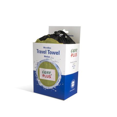 Care Plus Travel Towel Microfibre Medium - Groen