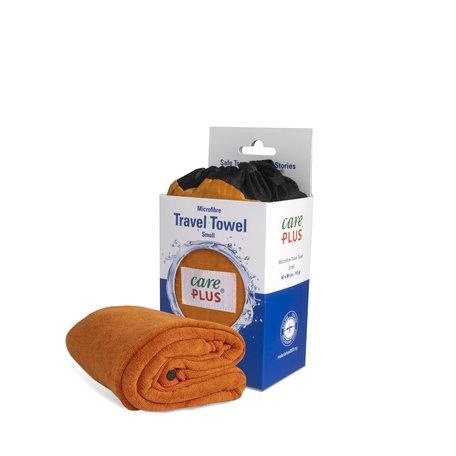 Care Plus Travel Towel Microfibre Small - Oranje