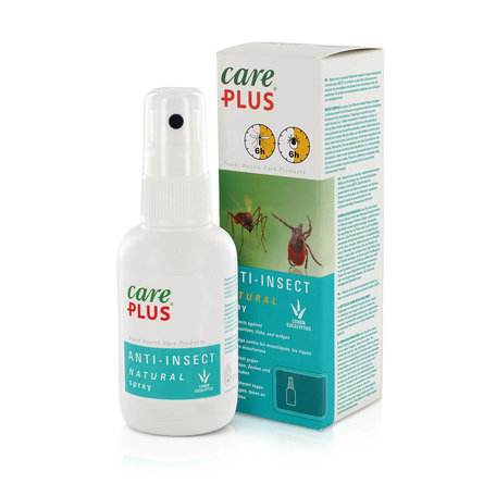 5X Care Plus Anti-Insect Natural spray 60 ml - Voordeelverpakking