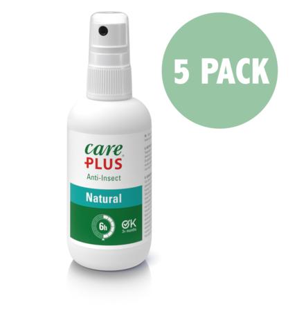 5X Care Plus Anti-Insect Natural spray 60 ml - Voordeelverpakking
