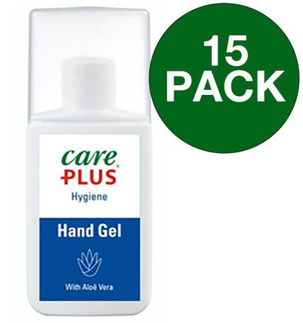 15x Care Plus reinigende handgel - Hygiëne gel - 75 ml