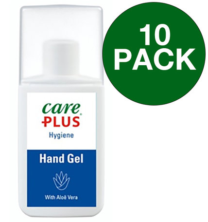 10x Care Plus reinigende handgel - Hygiëne gel - 75 ml