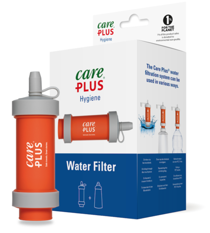 Care plus Waterfilter - Filtert protozoa en bacteriën