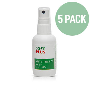 5X Care Plus Deet 40% spray 60 ml