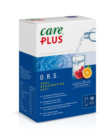 Care Plus O.R.S. - Granaatappel / Sinaasappel