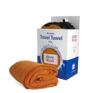 Care Plus Travel Towel Microfibre Large - Oranje