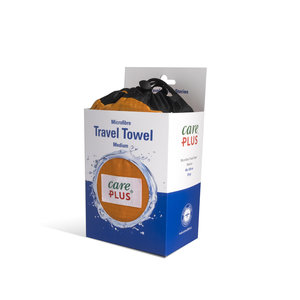Care Plus Travel Towel Microfibre Medium - Oranje