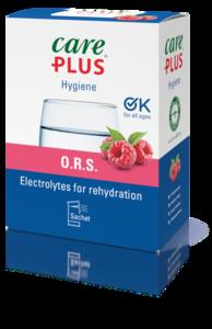 Care Plus® O.R.S. - Oral Rehydration Salt - Framboos